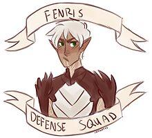 Dragon Age 2 - FENRIS DEFENSE SQUAD by 1000butts