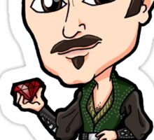 Xena Warrior Princess / Hercules - Autolycus The King of Thieves with Ruby Chibi Sticker Sticker