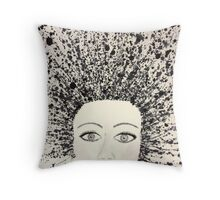 Great Hair Day Throw Pillow