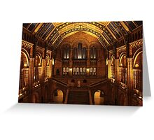 Night at the Museum Greeting Card