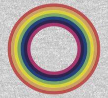 Circle Rainbow One Piece - Long Sleeve