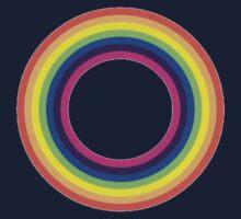 Circle Rainbow Kids Tee