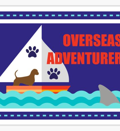 Canicross Achievement | Overseas Adventurer Sticker
