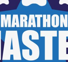 Canicross Achievement | Marathon Master Sticker