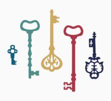 Fairy keys One Piece - Short Sleeve