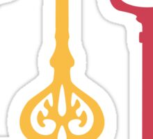 Fairy keys Sticker