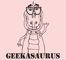 GEEKASAURUS Baby Tee