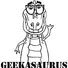 GEEKASAURUS by Sarah Jane Jackson