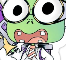 Scientist Zombie Sticker Sticker
