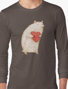 Bear with Heart Long Sleeve T-Shirt