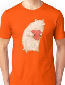 Bear with Heart Unisex T-Shirt