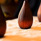 Copper Vases by Peggy Berger