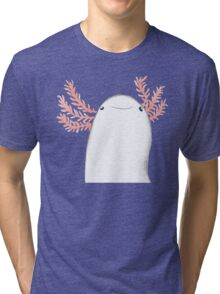 Axolotl Close-Up Tri-blend T-Shirt