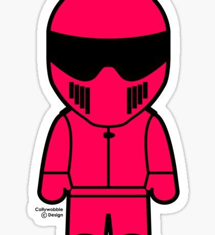 The Stig - Pink Stig Sticker