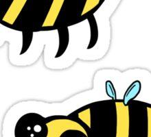 Super Cute Bees Sticker