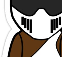 The Stig - African Stig Sticker
