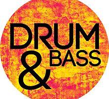 Drum & Bass (fire) by TheSlowBuildUp