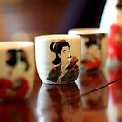 Sake Cups by Peggy Berger