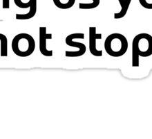 Motivational Confucius Sticker