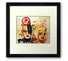 Lady Michel und Elektra Trash (VIDEO IN DESCRIPTION!) Framed Print
