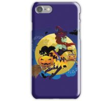 Witch and Full Moon 2 iPhone Case/Skin