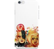 Lady Michel und Elektra Trash (VIDEO IN DESCRIPTION!) iPhone Case/Skin