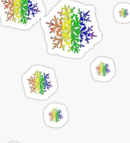 Snow Flakes Sticker
