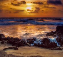 Sunrise In Paradise by Noble Upchurch