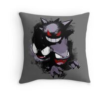 Ghostly Power Throw Pillow