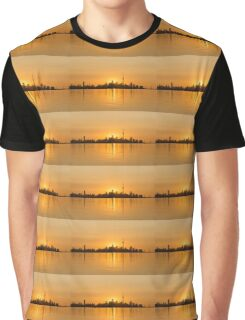 The City in Gold Graphic T-Shirt