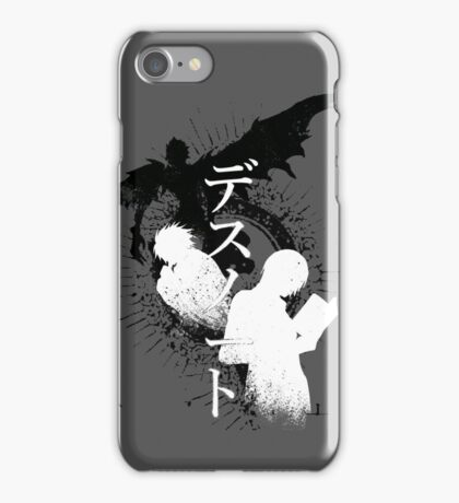 Lights journey iPhone Case/Skin