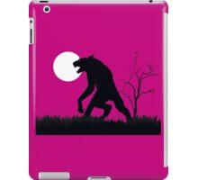 goosebumps werewolf iPad Case/Skin