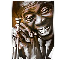 LOUIS ARMSTRONG.  Poster