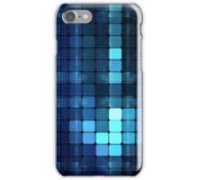 Blue squares iPhone Case/Skin