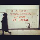 If graffiti... by Eleni  Sardi
