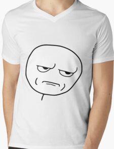 Are you kidding me Mens V-Neck T-Shirt