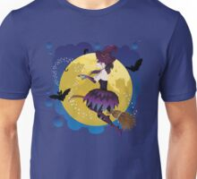 Witch on the Moon 3 Unisex T-Shirt