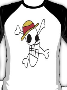 Luffy's Flag Drawing T-Shirt