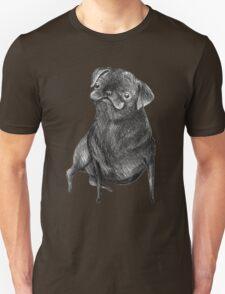 Le Carlin Noir Unisex T-Shirt