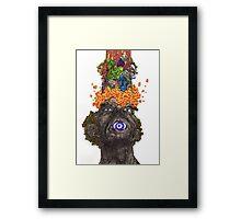 Explodo Framed Print