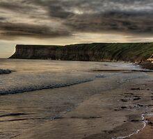 """""""Early morning at Saltburn Bay""""  by Bradley Shawn  Rabon"""