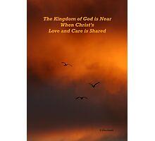 The Kingdom of God Photographic Print
