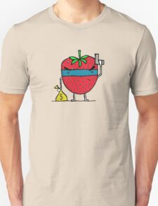 Stick Em Up...This Is A Strawberry T-Shirt