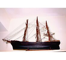 Wooden ship Photographic Print