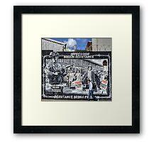 The Falls Road - Belfast Framed Print