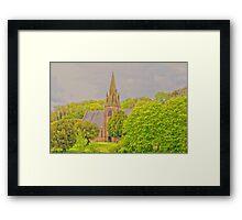 Church At Mostyn Framed Print
