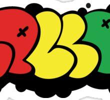 Mellow Rasta Tag Sticker