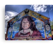 Bobby Sands - Belfast Canvas Print