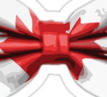 Canada Bow Tie Sticker