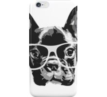 nerd dog iPhone Case/Skin